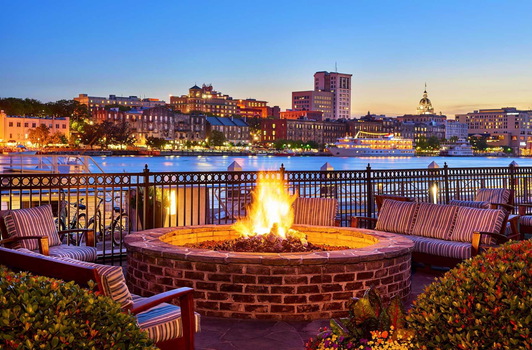 the exterior shot of Savannah Westin Resort