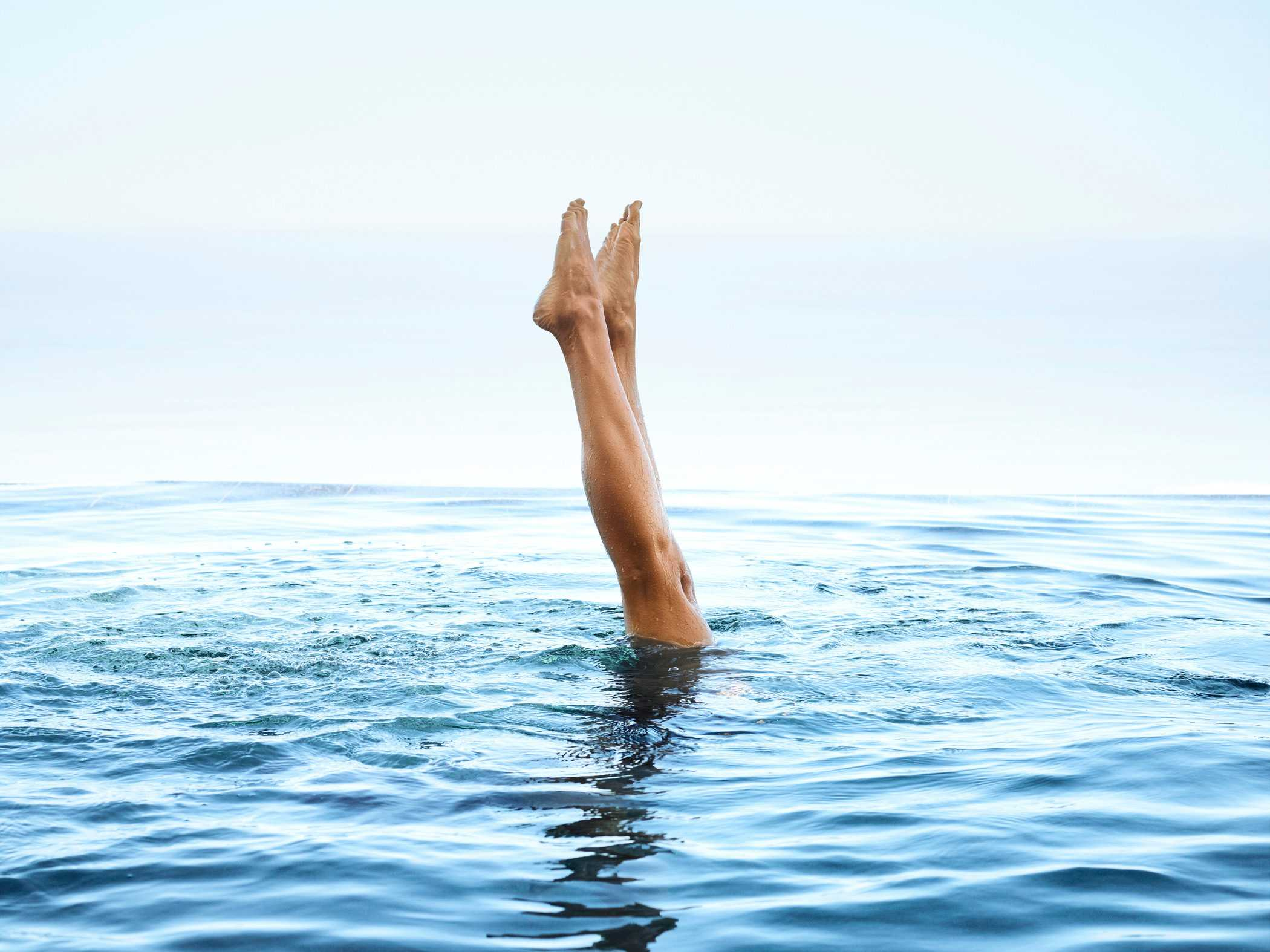 Heavenly-Spa-Swimmer-Legs-Sticking-out-of-Water